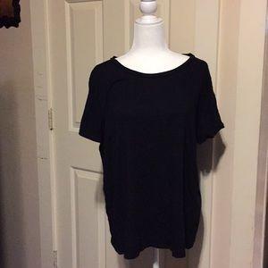 Torrid black T-shirt size 2